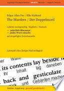 The Murders   Der Doppelmord    Lekture Zweisprachig  Englisch   Deutsch