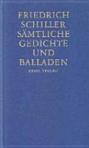 S Mtliche Gedichte Und Balladen