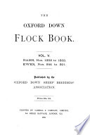The Flock Book of the Oxford Down Sheep Book PDF