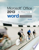 Microsoft Office Word 2013 Complete  In Practice