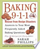 Baking 9 1 1