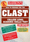 Barron S How To Prepare For The Clast