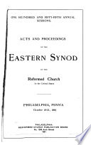 Acts and Proceedings