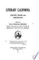 Literary California  Poetry  Prose and Portraits