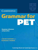 Cambridge Grammar for PET without Answers
