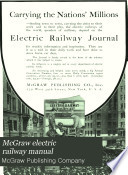 McGraw Electric Railway Manual