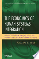 The Economics Of Human Systems Integration book
