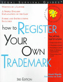 How to Register Your Own Trademark