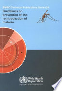 Guidelines On Prevention Of The Reintroduction Of Malaria