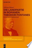Die Landpartie in Romanen Theodor Fontanes