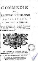 Commedie di Francesco Cerlone