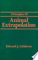 Principles of Animal Extrapolation