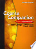 Course Companion for Basic College Mathematics  Powered by Enhanced WebAssign