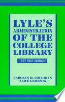 Lyle s Administration of the College Library