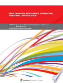 Trait Emotional Intelligence  Foundations  Assessment  and Education Book PDF
