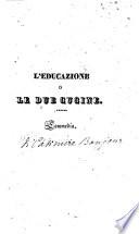 L educazione o Le due cugine commedia  Traduzione dal francese dell artista drammatico Ferdinando Livini