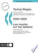 Taxing Wages 2003