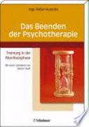 Das Beenden der Psychotherapie