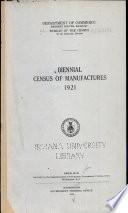 Biennial Census of Manufactures
