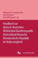 Handbuch zur deutsch deutschen Wirklichkeit
