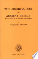 The Architecture of Ancient Greece
