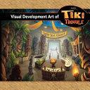 Visual Development Art of Tiki Trouble