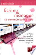 crire et manager sa communication Web