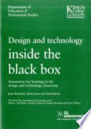 Design and Technology Inside the Black Box