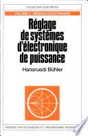 Réglage de systèmes d'électronique de puissance