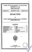 Sugar Pine Book PDF