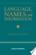 Language  Names  and Information