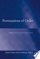 Permutations of Order