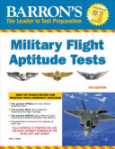 Barron s Military Flight Aptitude Tests  4th Edition