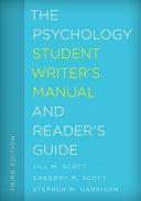 Psychology Student Writers Manpb