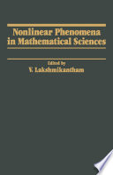 Nonlinear Phenomena in Mathematical Sciences