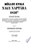 Müller Gyula Nagy Naptara