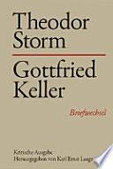 Theodor Storm – Gottfried Keller