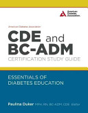 American Diabetes Association CDE and BC ADM Certification Study Guide
