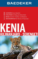 Baedeker Reisef  hrer Kenia  Kilimanjaro  Serengeti