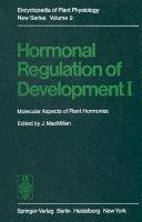 Hormonal Regulation of Development I