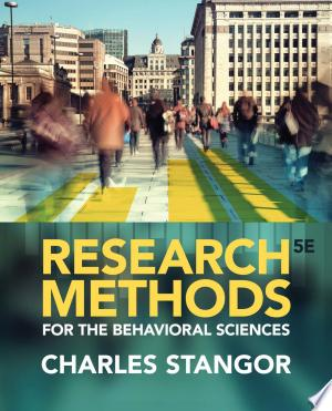 Research Methods for the Behavioral Sciences - ISBN:9781285077024