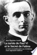 illustration du livre La survie de Paul VI et le Secret de Fatima