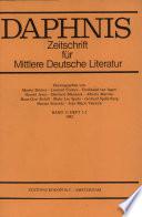 Hof, Staat und Gesellschaft in der Literatur des 17. Jahrhunderts