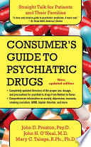 A Consumer's Guide to Psychiatric Drugs