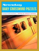 Newsday Daily Crossword Puzzles From The Long Island Paper Newsday One Of