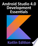 Android Studio 4 0 Development Essentials Kotlin Edition