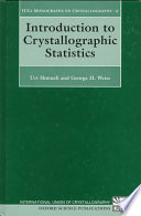 Introduction to Crystallographic Statistics