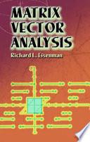 Matrix Vector Analysis