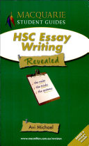 Macquarie HSC Essay Writing Revealed