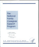 The National Family Caregiver Support Program